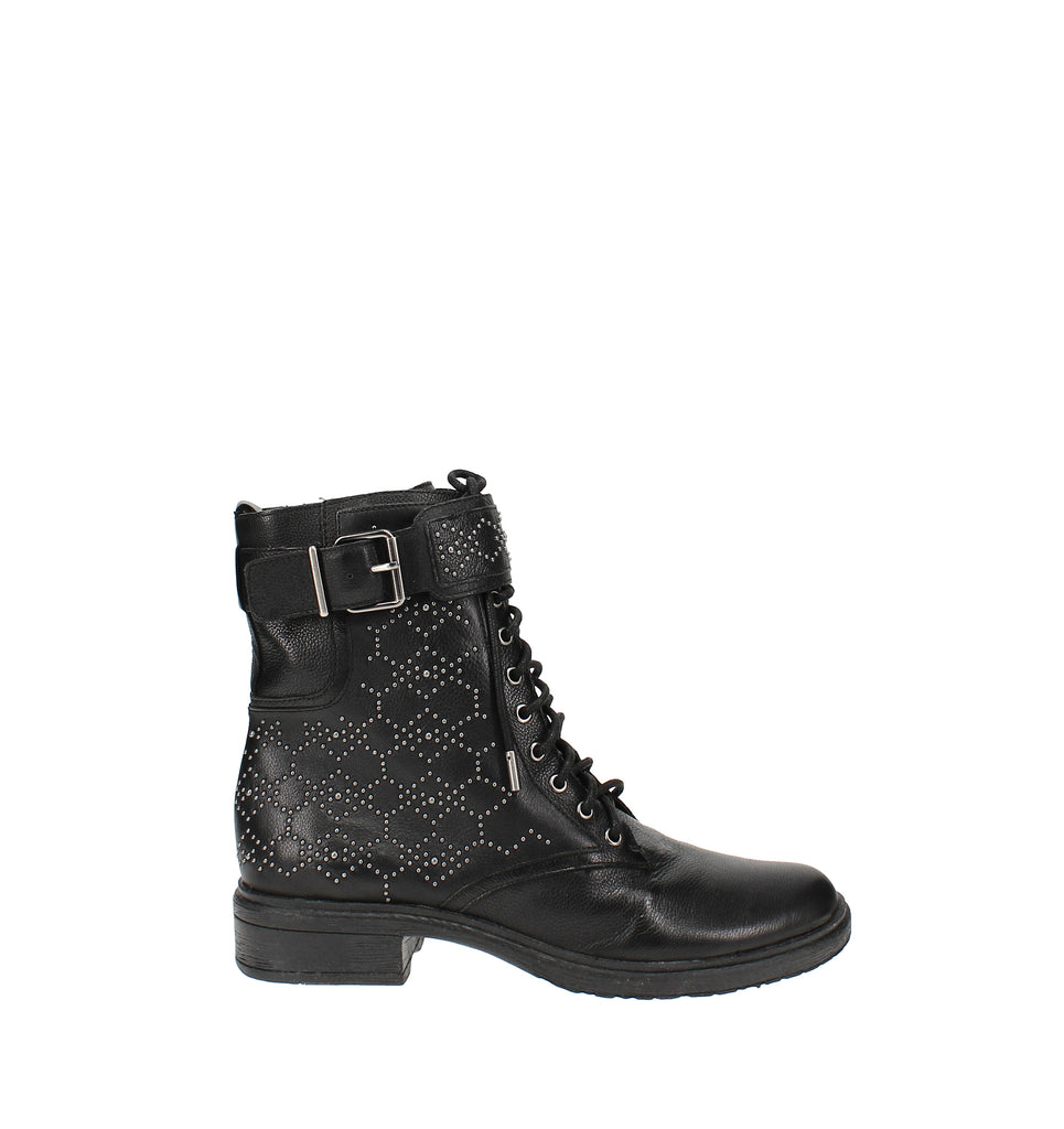 Yieldings Discount Shoes Store's Tanowie Lace Up Boots by Vince Camuto in Black