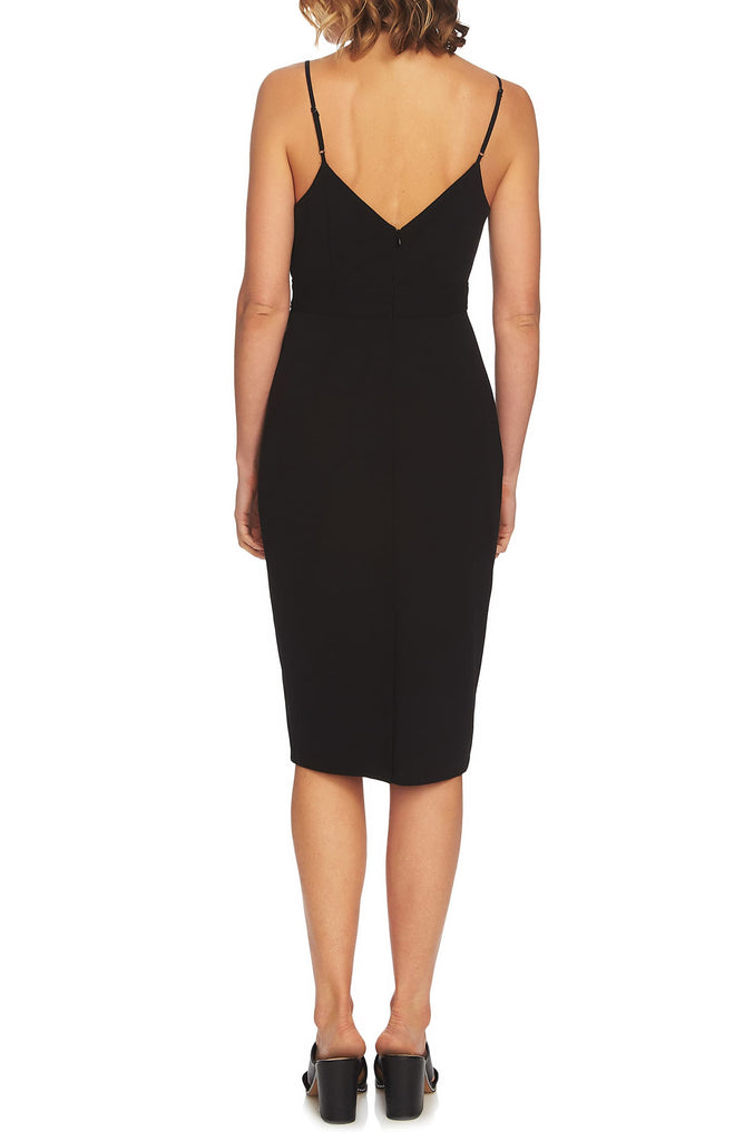 Yieldings Discount Clothing Store's Cutout Bodycon Dress by 1.State in Rich Black