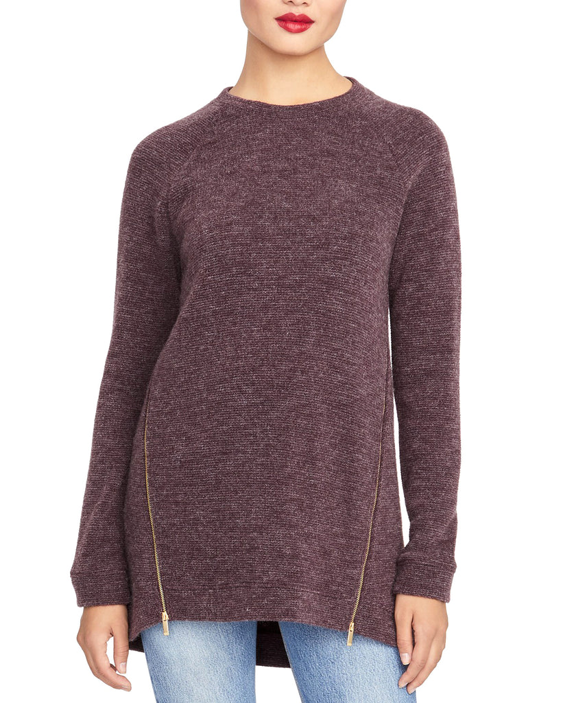 RACHEL Rachel Roy | Asymmetrical Zipper Sweater