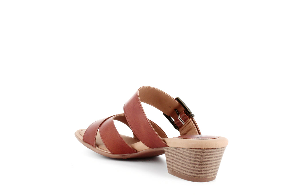 Yieldings Discount Shoes Store's Vareen Dress Sandals by BOC by Born in Tan