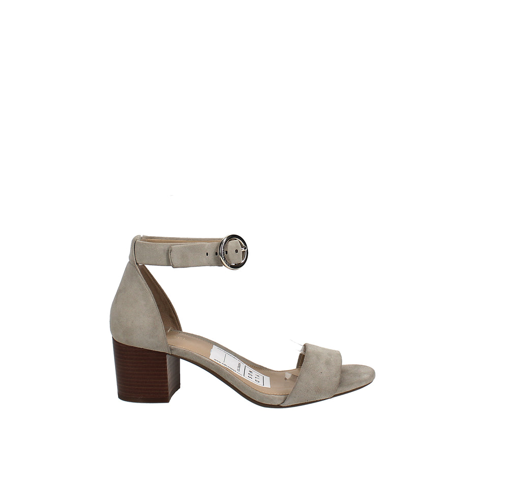 Yieldings Discount Shoes Store's Lena Block Heel Dress Sandals by MICHAEL Michael Kors in Dusty Sage