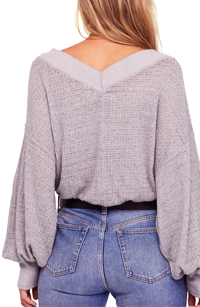 Yieldings Discount Clothing Store's South Side Thermal by We The Free By Free People in Lilac