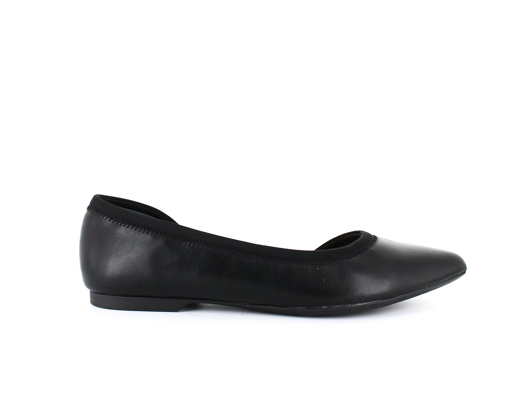 Yieldings Discount Shoes Store's Step 'N Flex Phoennix D'Orsay Flats by Alfani in Black