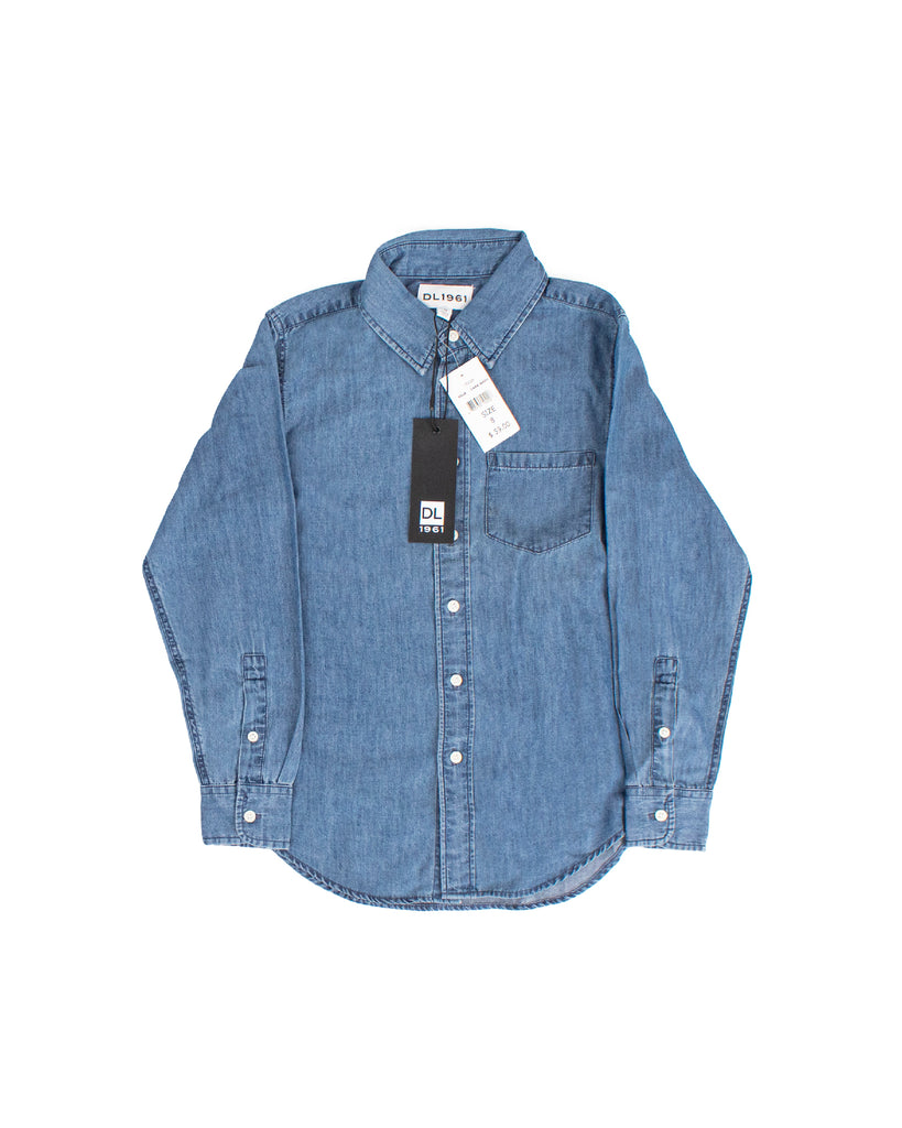 Yieldings Discount Clothing Store's Franklin - Shirts by DL1961 in Dark Wash
