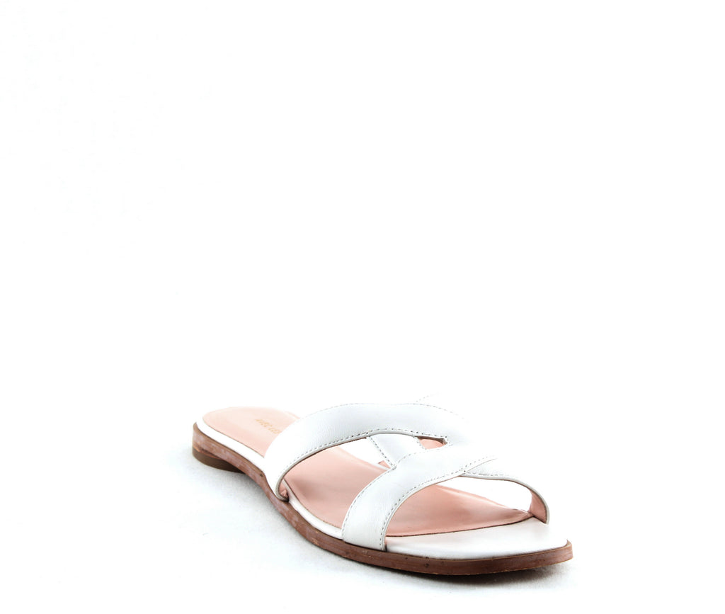 Yieldings Discount Shoes Store's Blaye Flat Sandals by Avec Les Filles in Off White