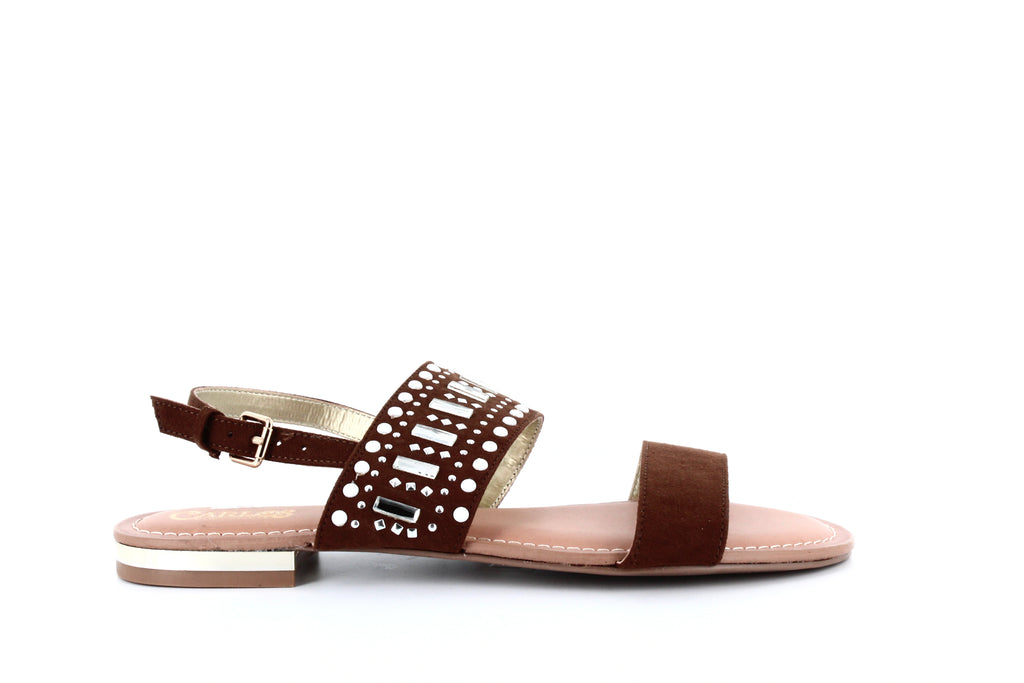 Carlos by Carlos Santana | Verity Embellished Flat Sandals