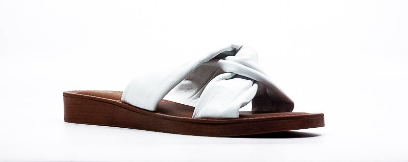 Yieldings Discount Shoes Store's Noa-Italy Sandals by Bella Vita in White