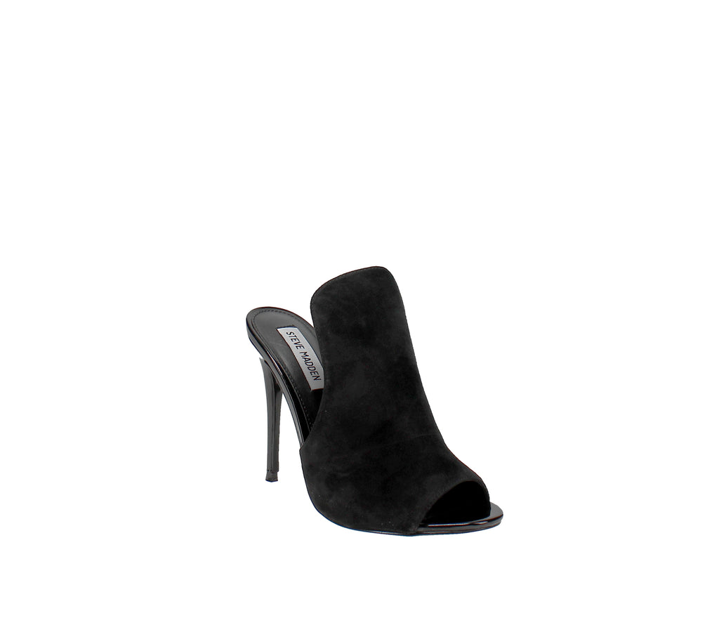 Yieldings Discount Shoes Store's Sinful Dress Sandals by Steve Madden in Black