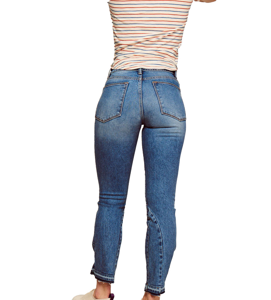 Yieldings Discount Clothing Store's CDG - Cigarette Petite Jeans by Warp + Weft in Sandrine