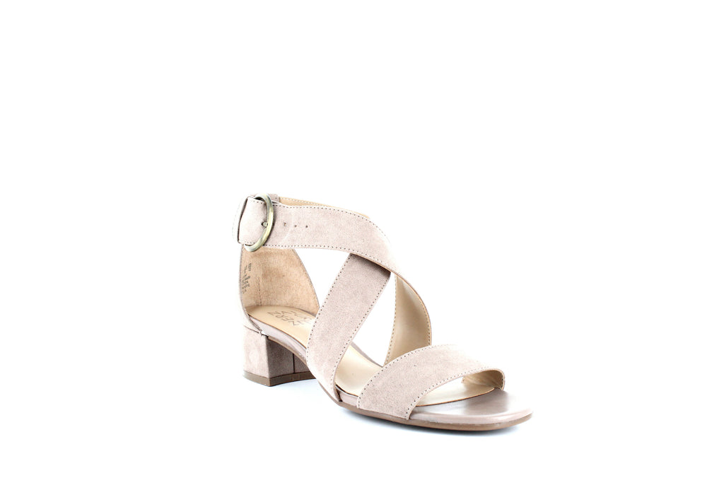 Yieldings Discount Shoes Store's Amelia Heel Sandals by Naturalizer in Tiramisu