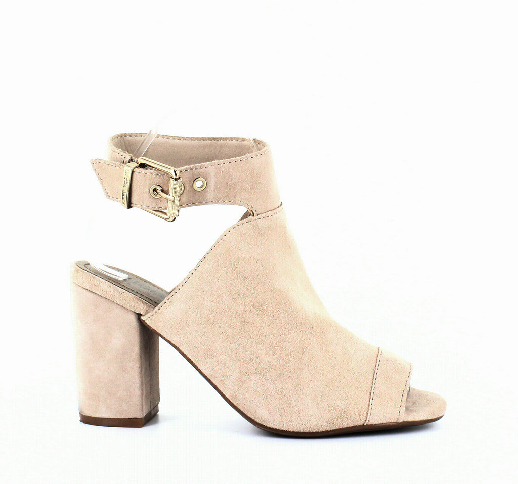 Yieldings Discount Shoes Store's Seleste Block Heel Sandals by Lucca Lane in Lamb