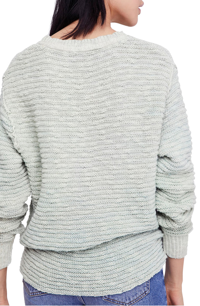 Yieldings Discount Clothing Store's Oversized Pullover Sweater by Free People in Moss