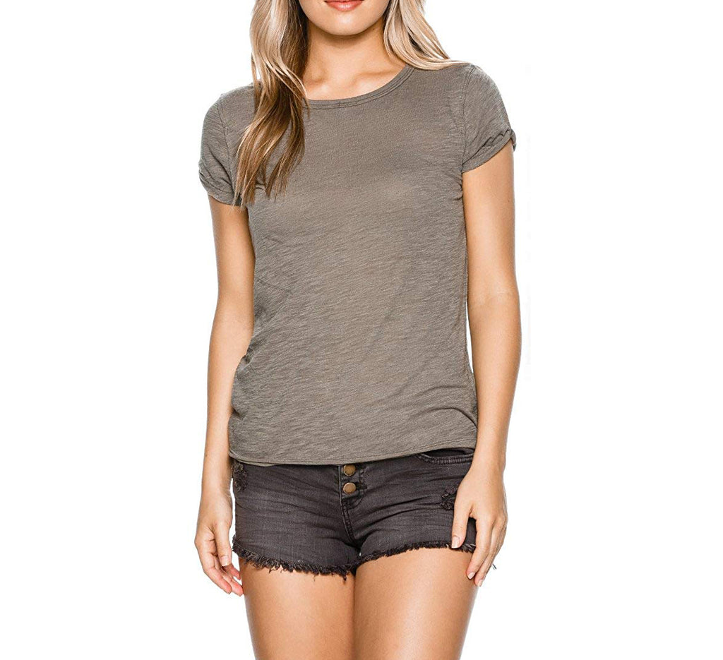 Yieldings Discount Clothing Store's Clare Tee by Free People in Sage