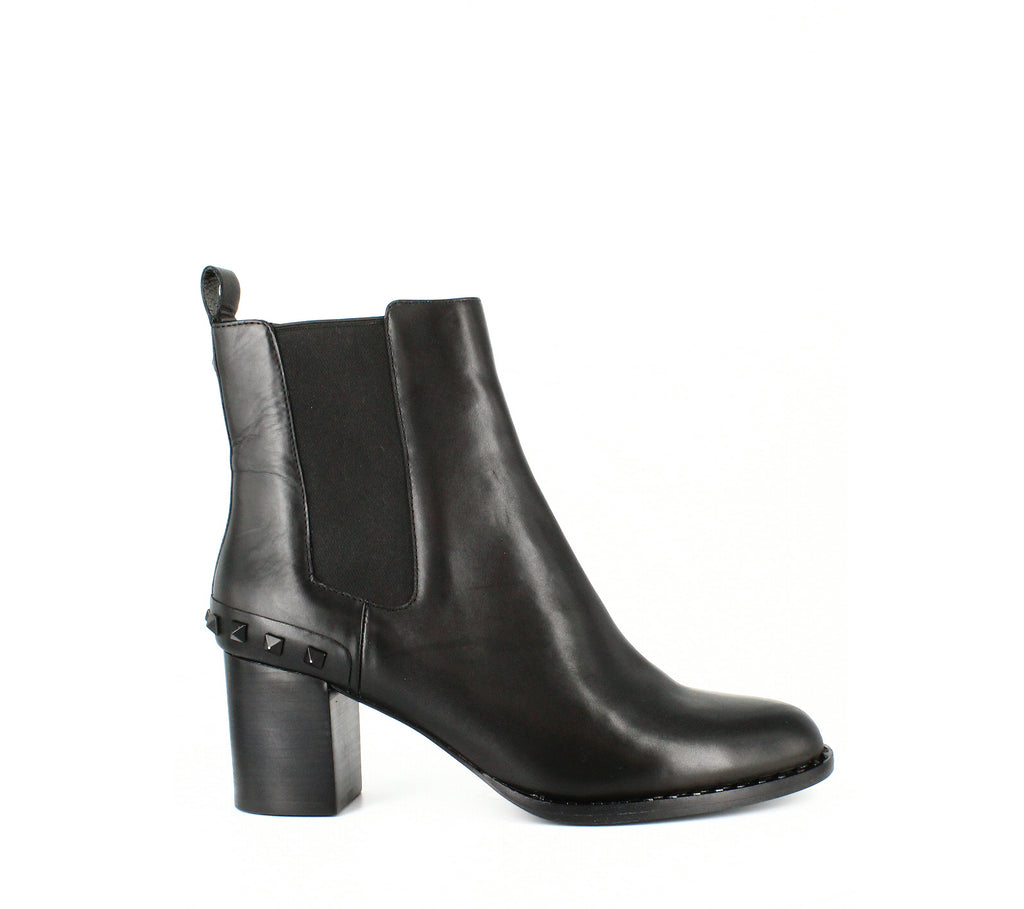 Yieldings Discount Shoes Store's Vertigo Booties by Ash in Black