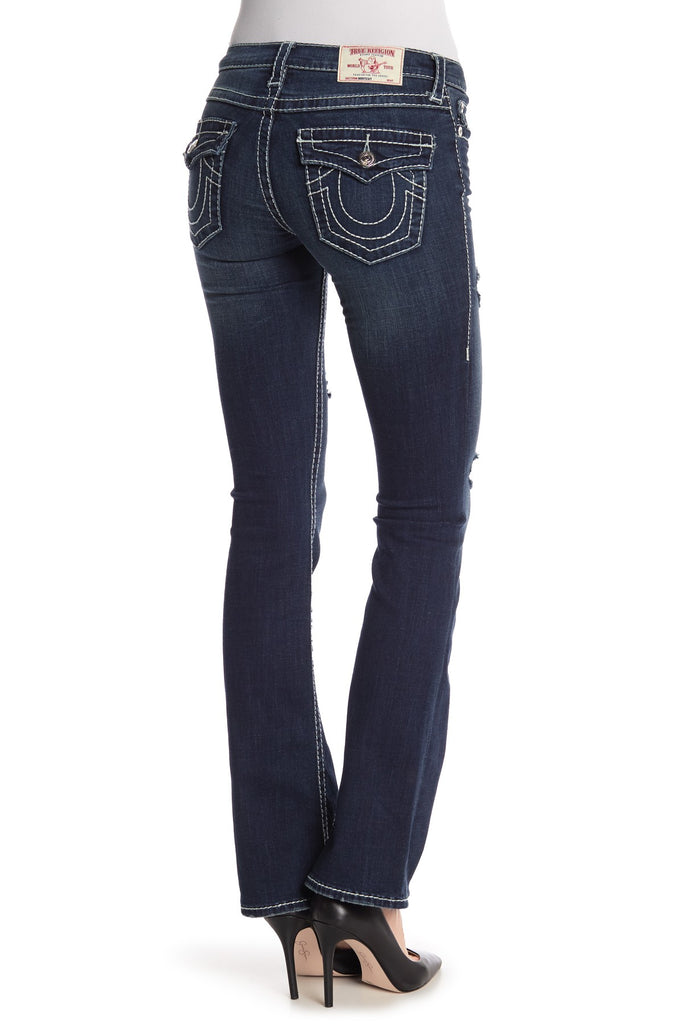 Yieldings Discount Clothing Store's Big T Bootcut Jeans by True Religion in Into The Night