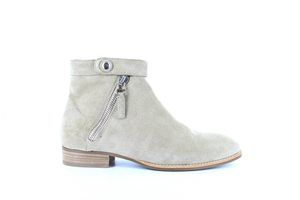 Yieldings Discount Shoes Store's Rose Suede Booties by Aquatalia in Ecru