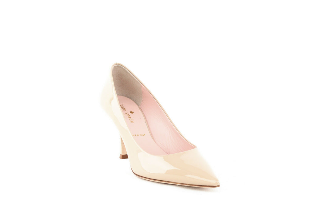 Yieldings Discount Shoes Store's Sonia Pumps by Kate Spade in Powder