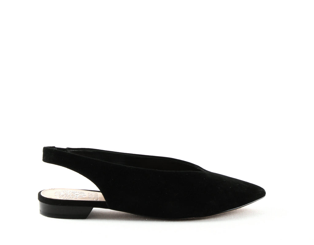 Yieldings Discount Shoes Store's Maltida Slingback Flats by Vince Camuto in Black