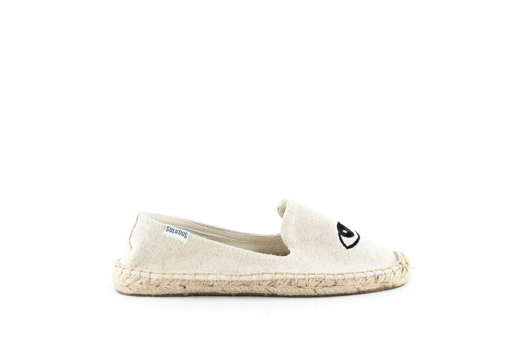Yieldings Discount Shoes Store's Smoking Slipper Espadrilles by Jason Polan for Soludos in Sand