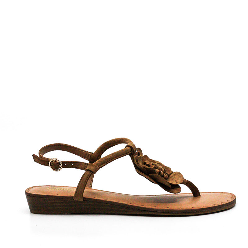 Yieldings Discount Shoes Store's Teagan Sandals by Carlos Santana in Brulee