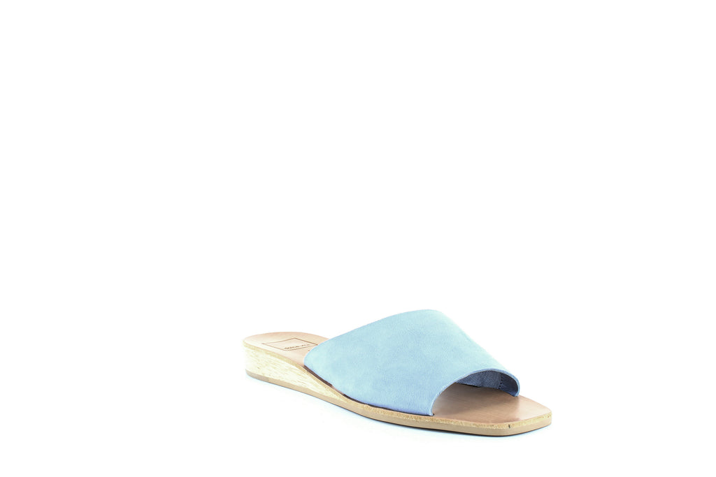 Yieldings Discount Shoes Store's Hildy Slide Sandals by Dolce Vita in Periwinkle