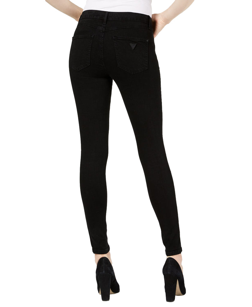 Yieldings Discount Clothing Store's 1981 Skinny Jeans by Guess in Black Rinse