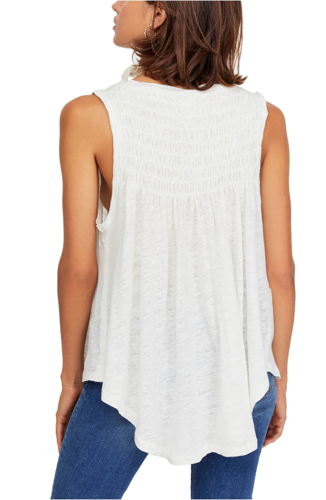 We The Free By Free People | New To Town Smocked Tank