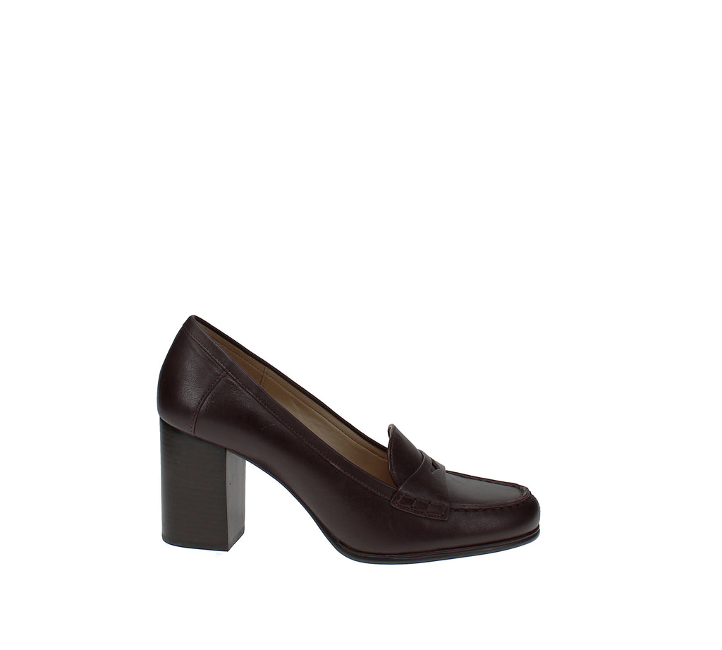 Yieldings Discount Shoes Store's Buchanan Loafer Pumps by MICHAEL Michael Kors in Barolo