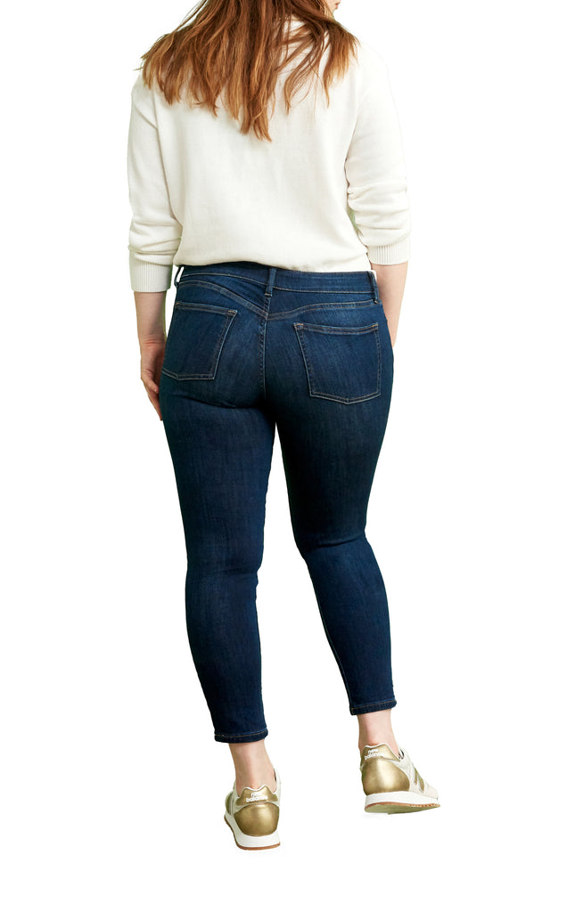 Yieldings Discount Clothing Store's JFK - Crop Skinny Jeans by Warp + Weft in Wanderer