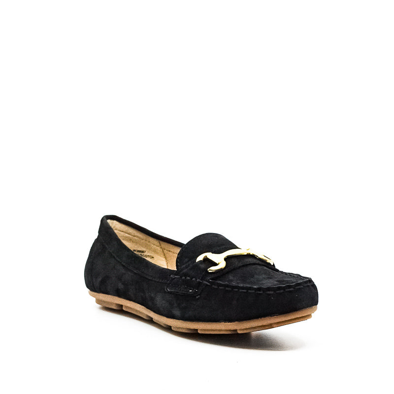 Yieldings Discount Shoes Store's Scotch Flats by White Mountain in Black/Nubuck