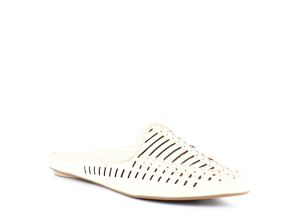 Yieldings Discount Shoes Store's Ginny Woven Mules by Dolce Vita in Ivory