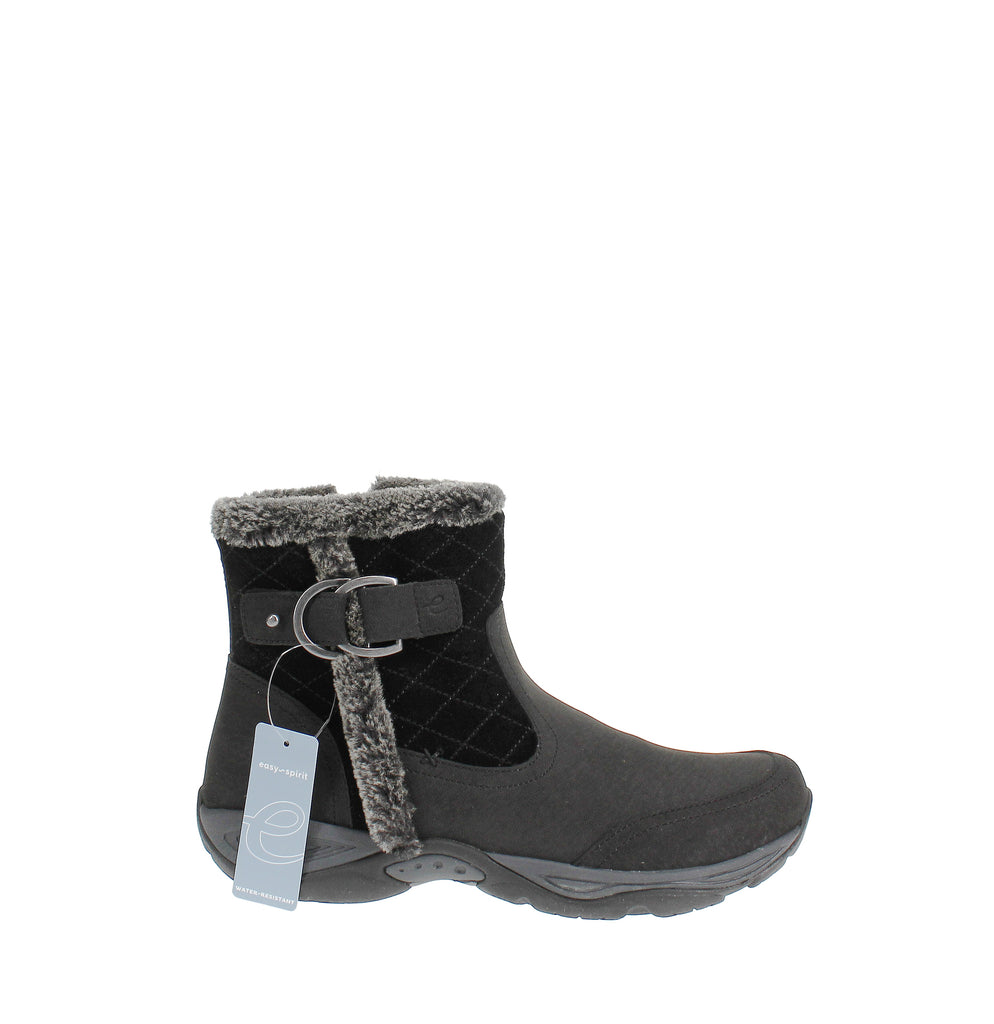 Yieldings Discount Shoes Store's Ember Boots by Easy Spirit in Black