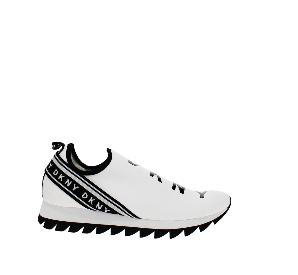 Yieldings Discount Shoes Store's Mel Laceup Sneakers by DKNY in White