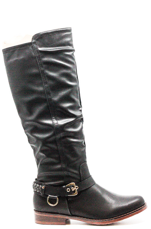 Yieldings Discount Shoes Store's Mauricia Boots by XOXO in Black