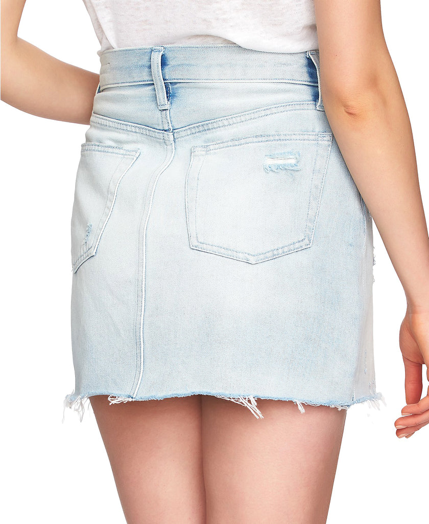Yieldings Discount Clothing Store's Casual Denim Skirt by 1.State in Reef Wash
