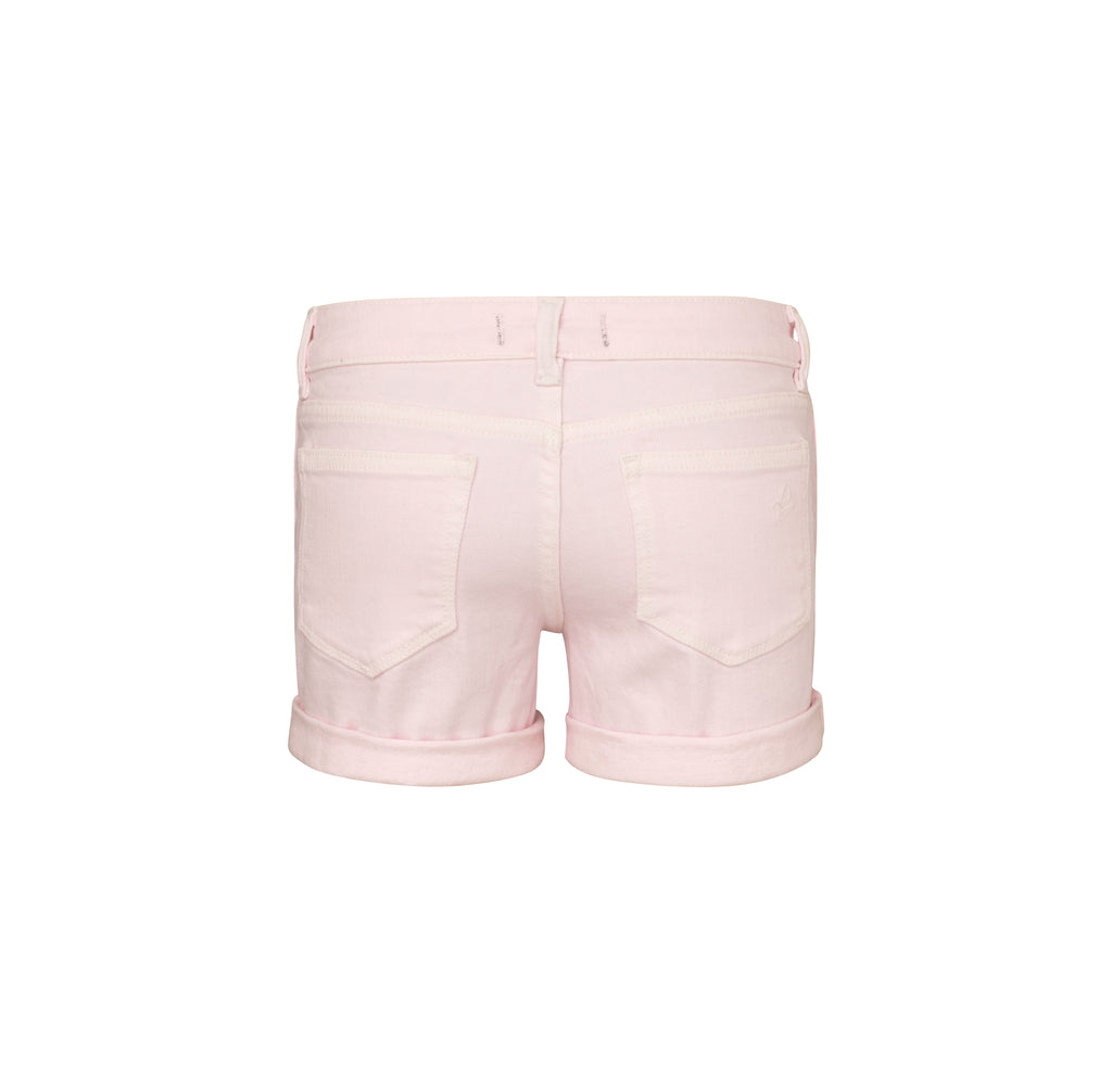 Yieldings Discount Clothing Store's Piper - Cuffed Short by DL1961 in Pink Cloud