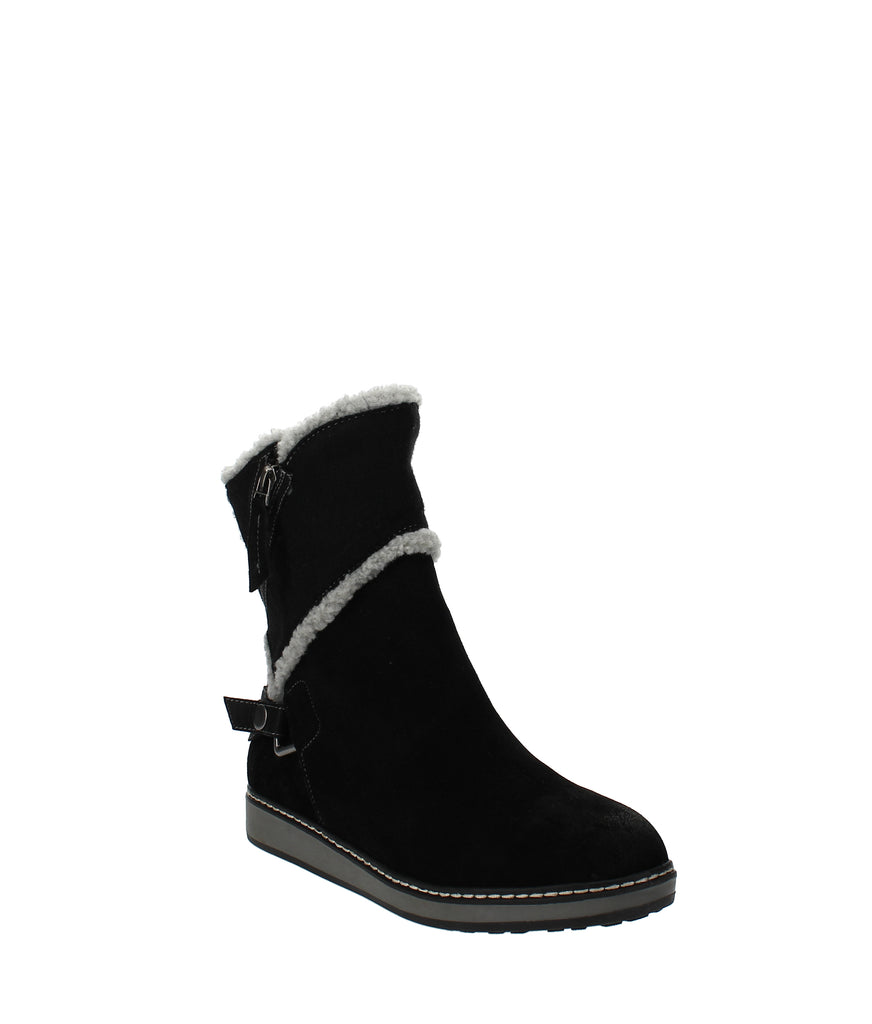Yieldings Discount Shoes Store's Teague Winter Boots by White Mountain in Black