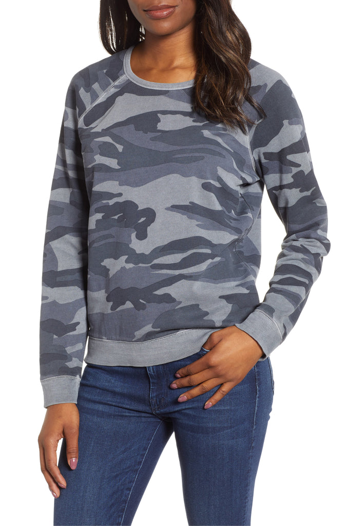 Lucky Brand | Camouflage-Print Top