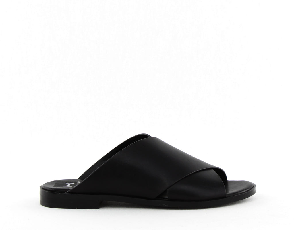 Yieldings Discount Shoes Store's Idinia Slide Sandals by Marc Fisher LTD in Black