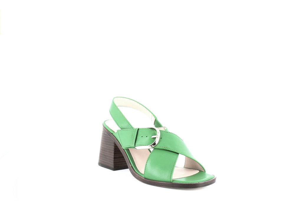 Yieldings Discount Shoes Store's Raleigh Block Heel Sandals by Kate Spade in Green Beans