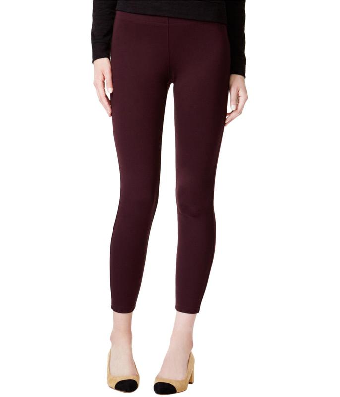 Yieldings Discount Clothing Store's Pull-On Skinny Pants by Maison Jules in New Wine