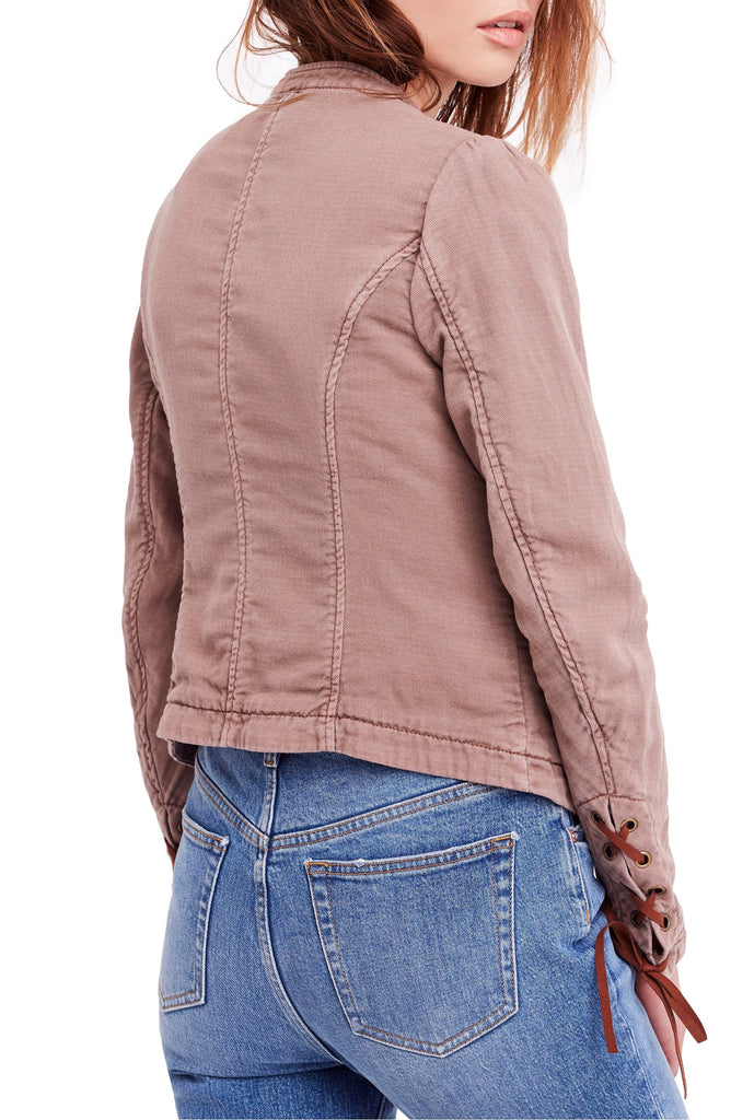 Yieldings Discount Clothing Store's Jagger Jacket by Free People in Mauve