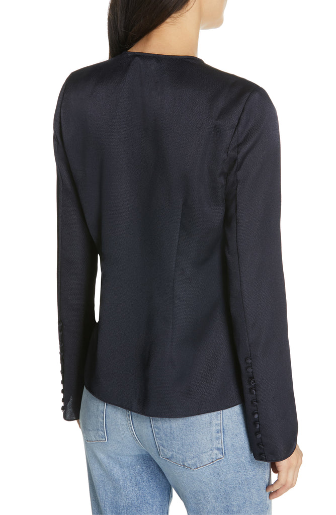 Yieldings Discount Clothing Store's Madora Top by Joie in Midnight