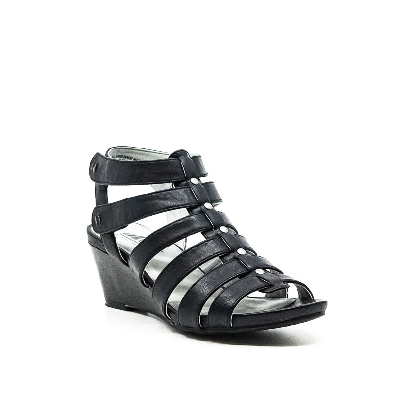Yieldings Discount Shoes Store's Vivaldi Wedge Sandals by Cliffs By White Mountain in Black