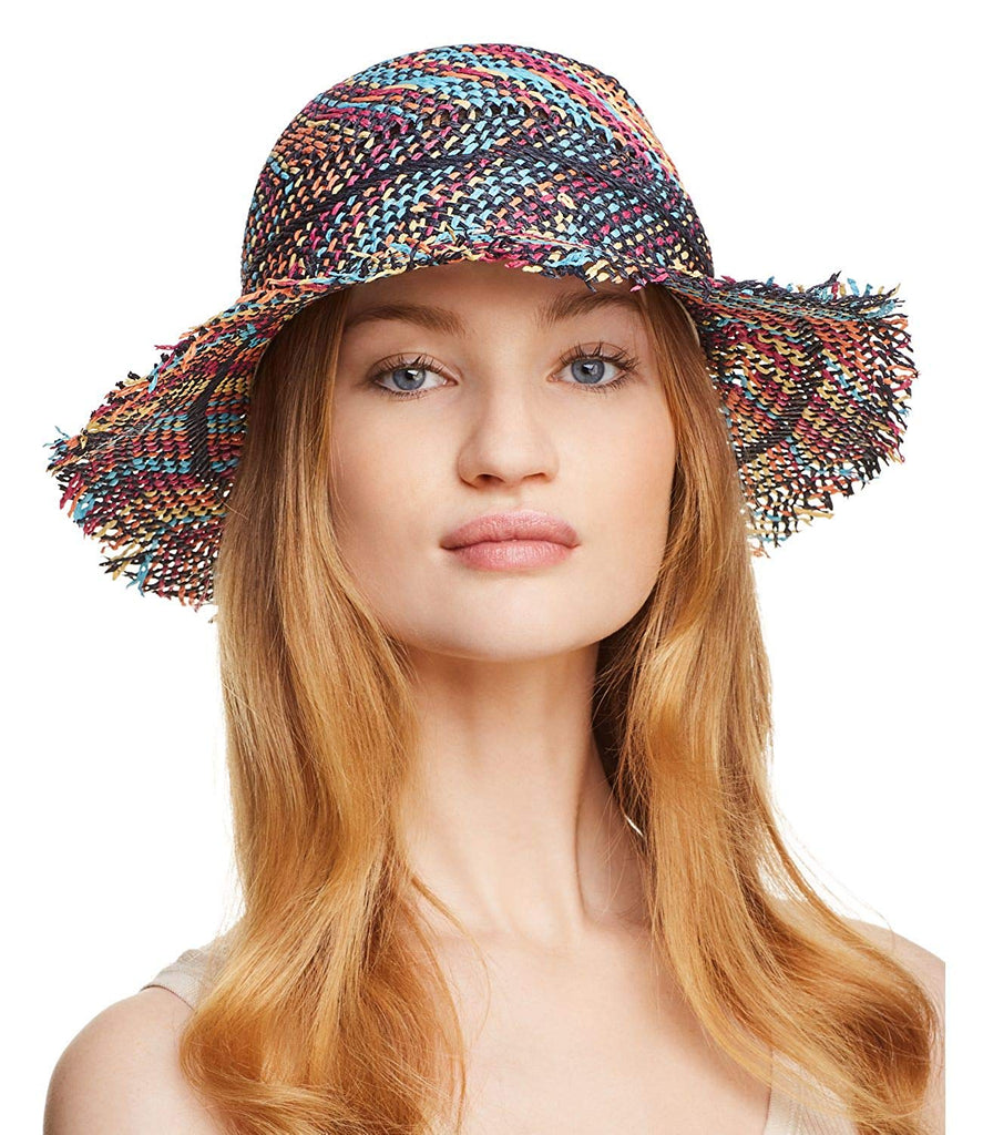 Yieldings Discount Accessories Store's AdelAide Sun Hat by Echo in Multicolor