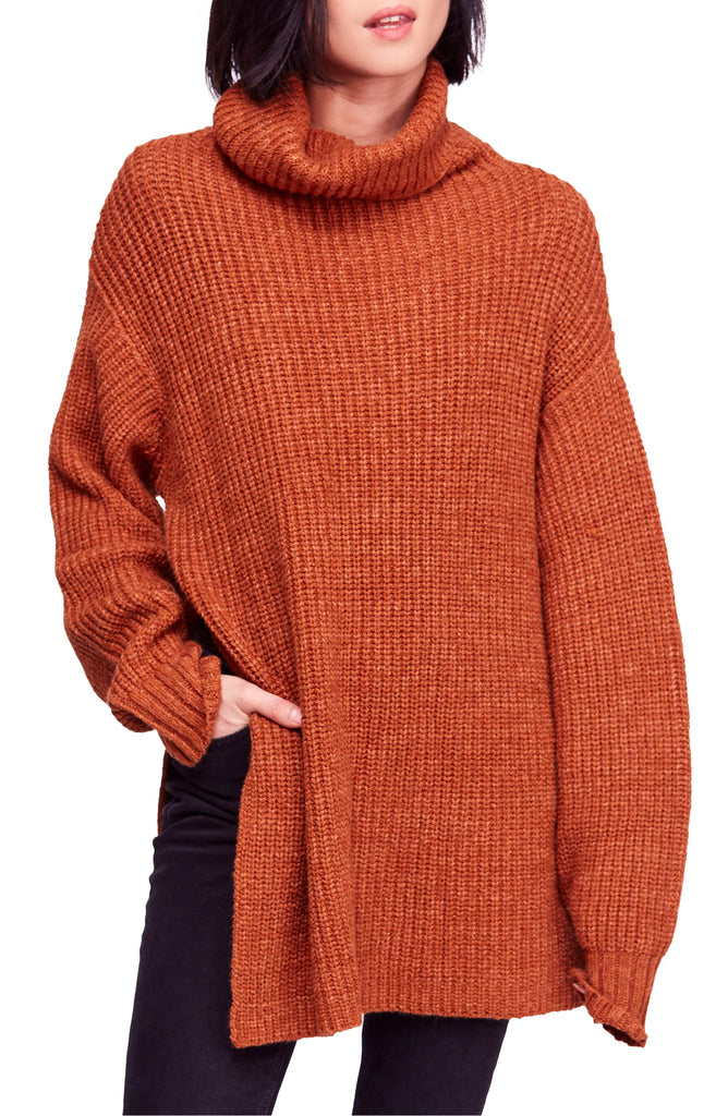 Yieldings Discount Clothing Store's Eleven Sweater by Free People in Cocoa