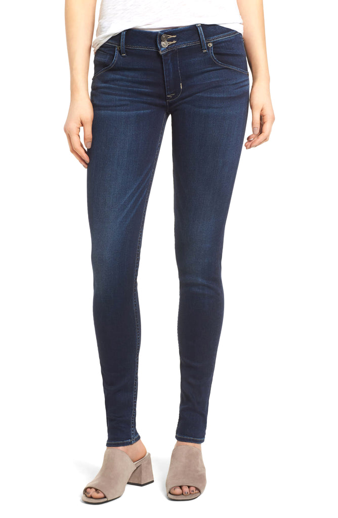 Yieldings Discount Clothing Store's Collin Skinny Jeans by Hudson in Crest Falls