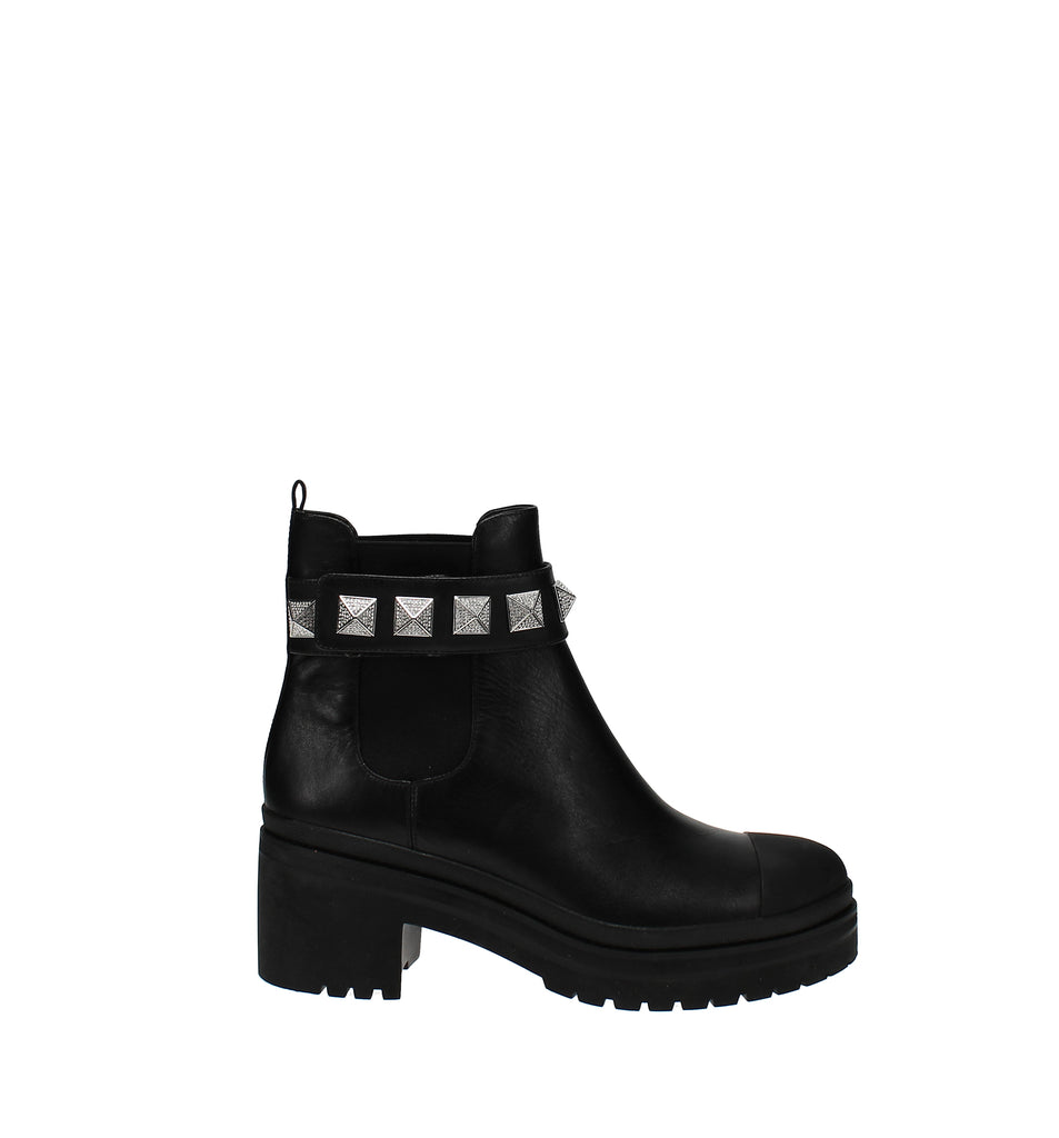 Yieldings Discount Shoes Store's Glenn Booties by MICHAEL Michael Kors in Black