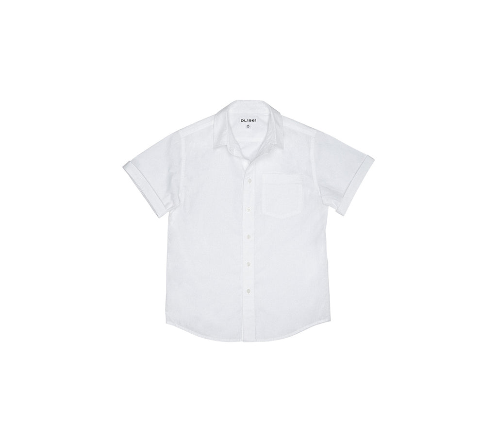Yieldings Discount Clothing Store's Ash Button-Up Top by DL1961 in White