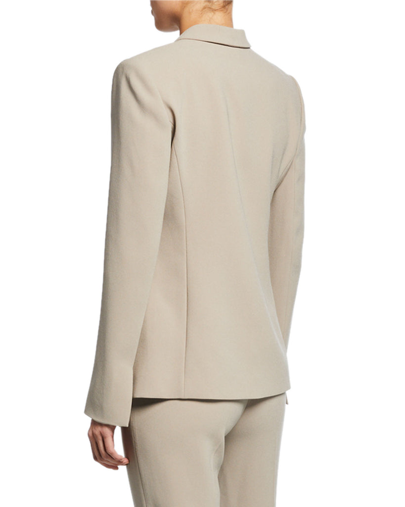Yieldings Discount Clothing Store's Serena Ruffle-Front Blazer by Elie Tahari in Sawgrass